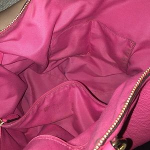 Coach tote pink purse